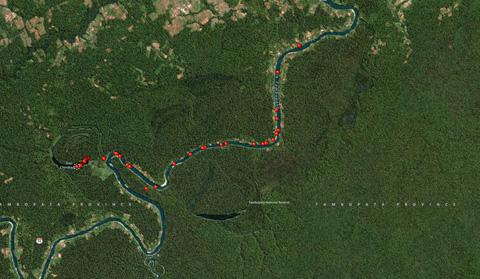 Day-13-Puerto-Maldonado-Peru-Map