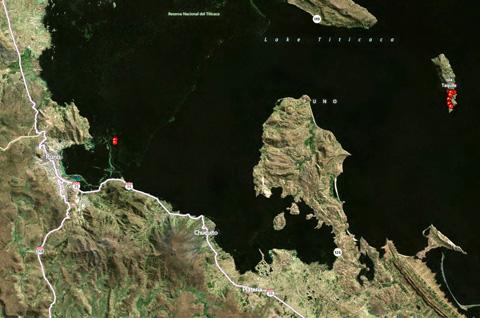 Puno-Peru-Map