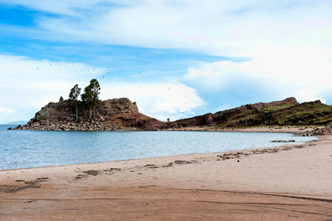 Taquile-Island-Beach