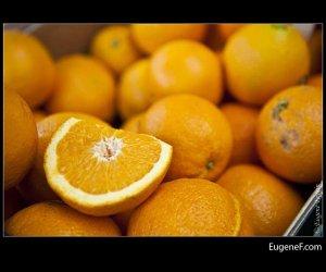 Sliced Cut Oranges