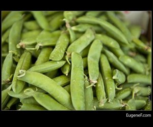 Bunched Snap Peas