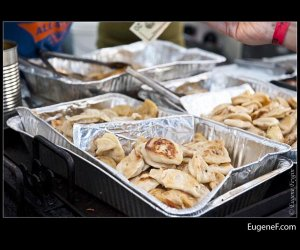 Pierogies Tray