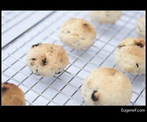 blueberry cookies rack
