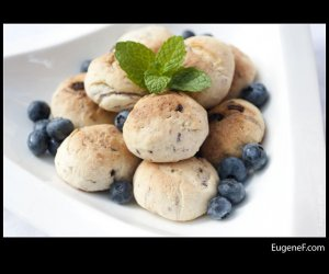 organic blue berry cookies