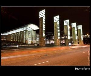 Chicago McCormick Place Night