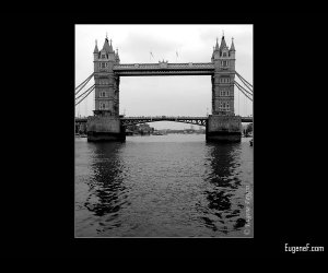 Historical British Tower Bridge