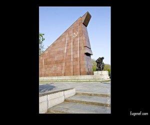 Soviet Kneeling Statue
