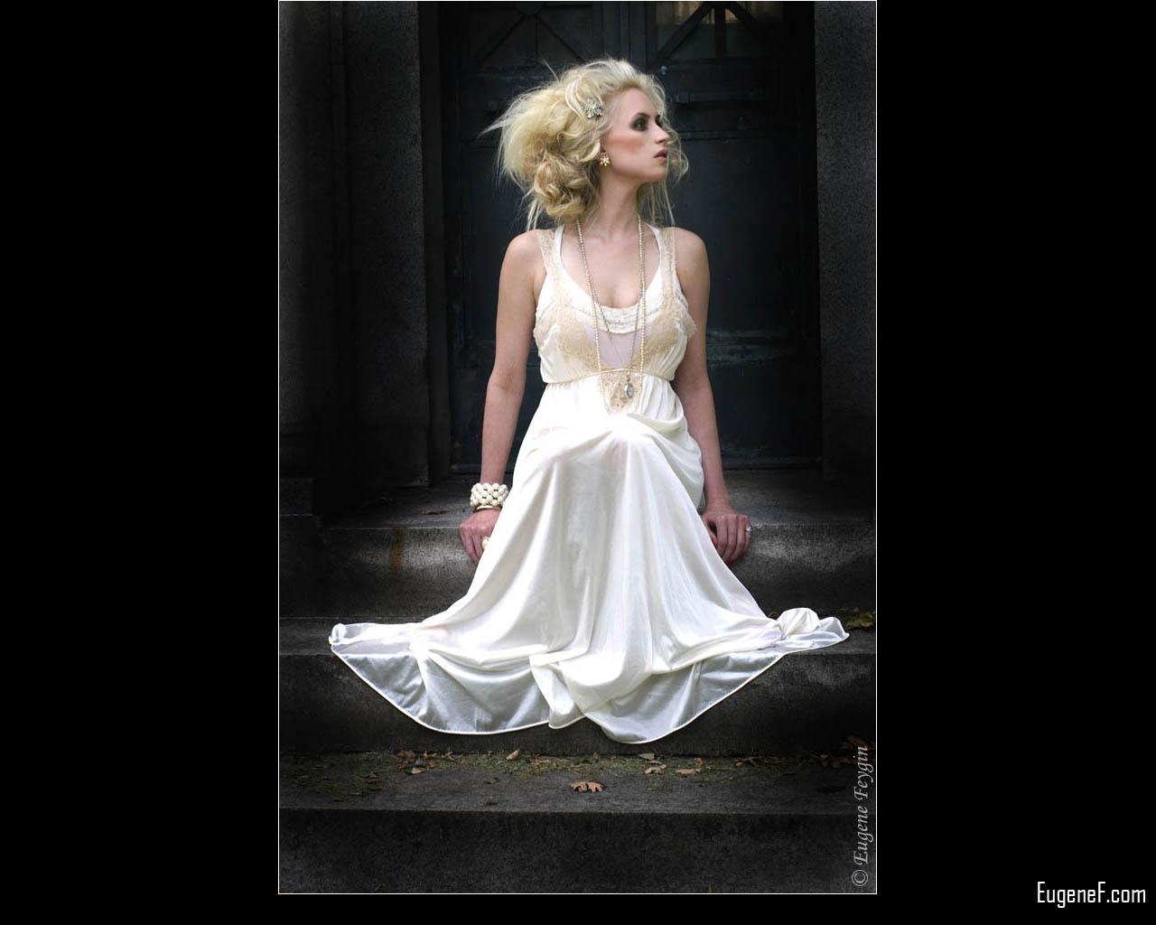 White Gown Fashion