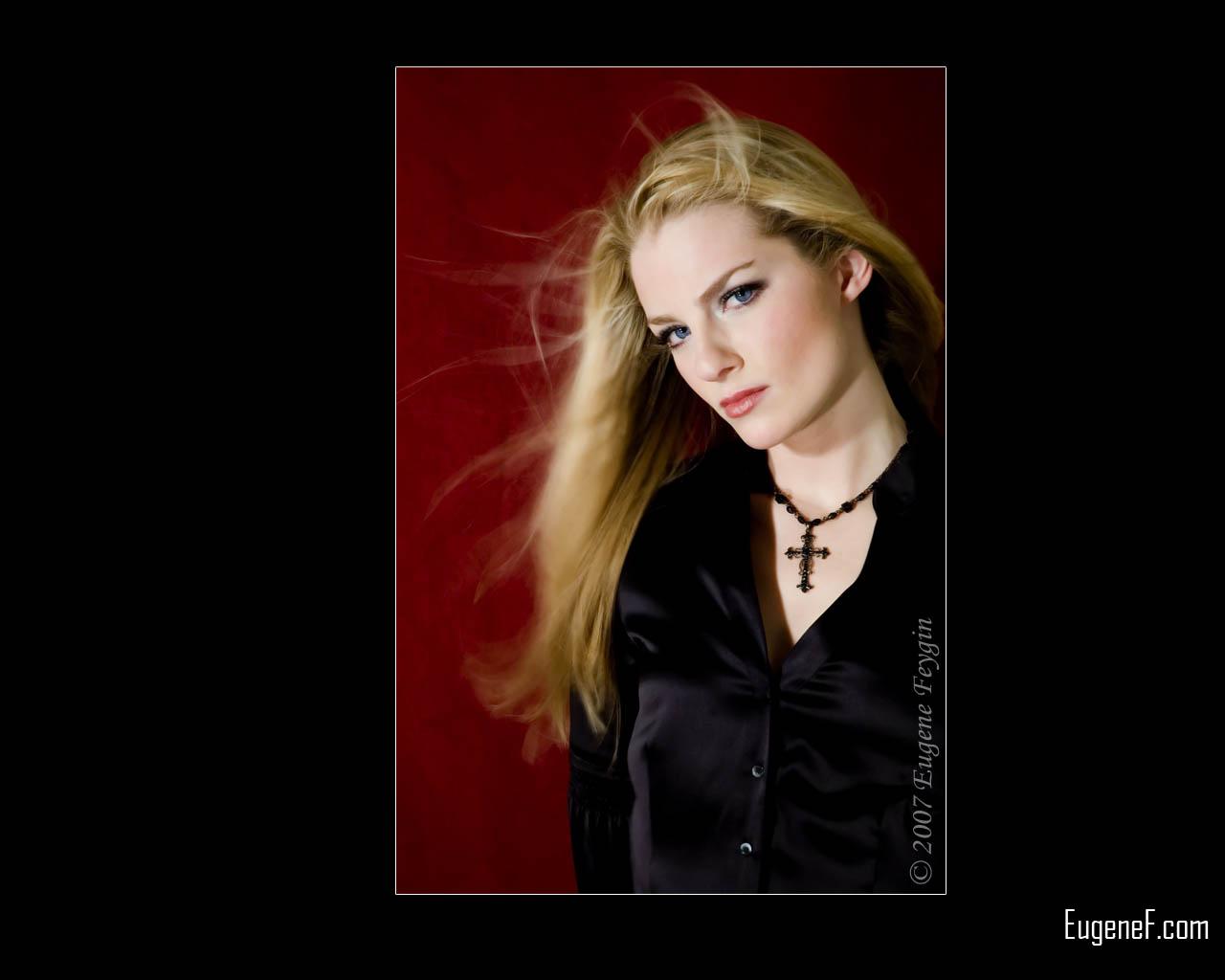 Studio Portrait of Kelly 7