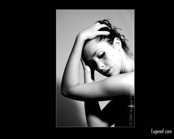 Kim Model Art Portrait 3