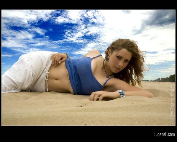 Kim Portrait At The Beach 12