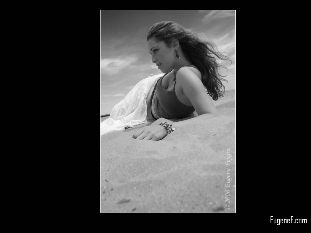 Kim Portrait At The Beach 3