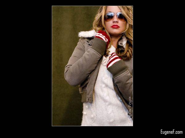 Studio Portrait of Pamela Glasses 7