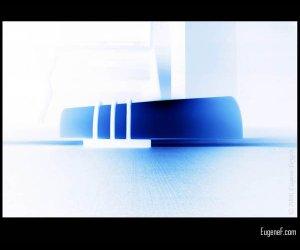 Blue Lamp Light
