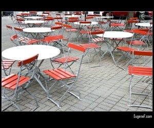 Cafe Sitting Area