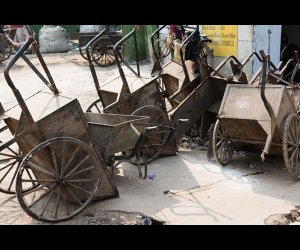 Cart to Carry Garbage
