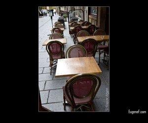 Empty Cafe Area