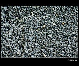 Gravel Background Black
