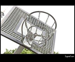 Metal Basketball Net