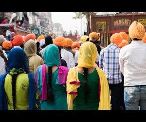 Sikh Procession in Delhi