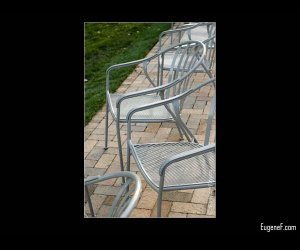 Steel Park Chairs