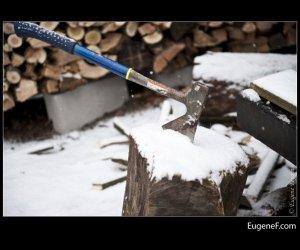 wood axe