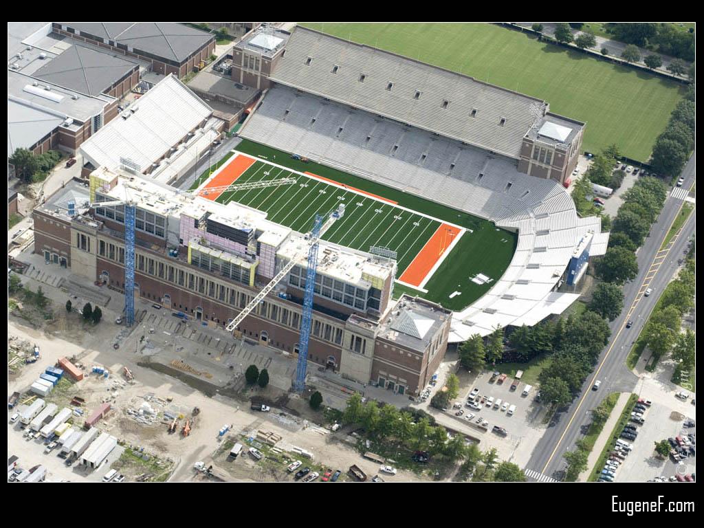 Illinois Football Stadium