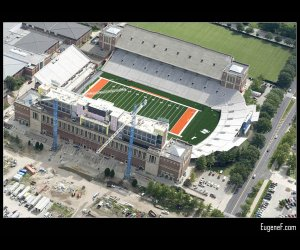 Illinois Football Stadium