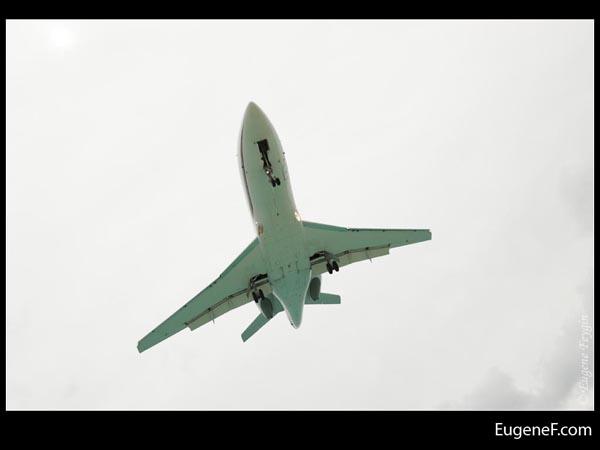 Slanted Airplane
