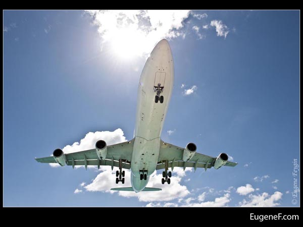 Sun Beaming Airplane