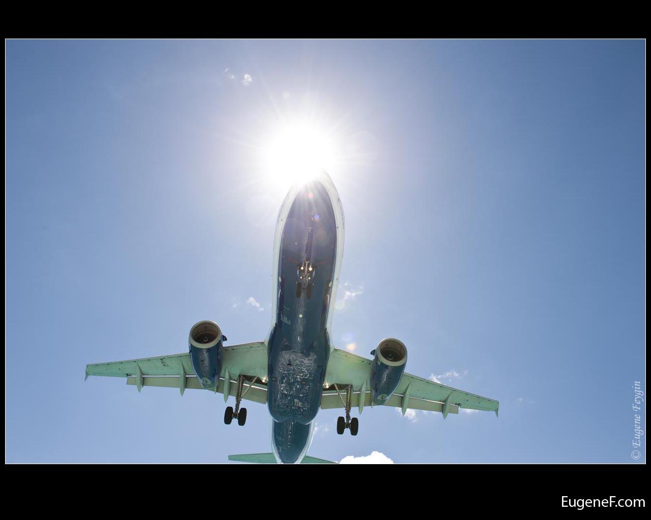 Sun Halo Airplane