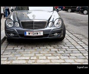 Silver Luxury Car