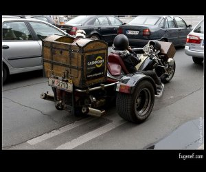 Cashpoint Motorcycle