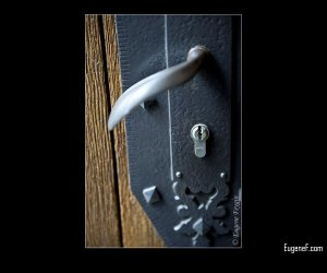 Cathedral Door Lock