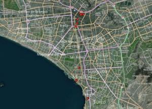 Day-2 Lima Peru Map