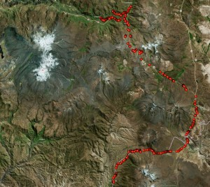 Colca Canyon Peru Map