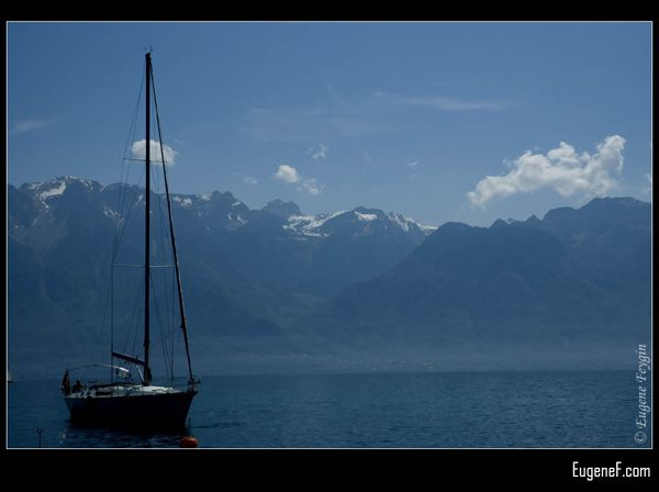 Sailing in Switzerland