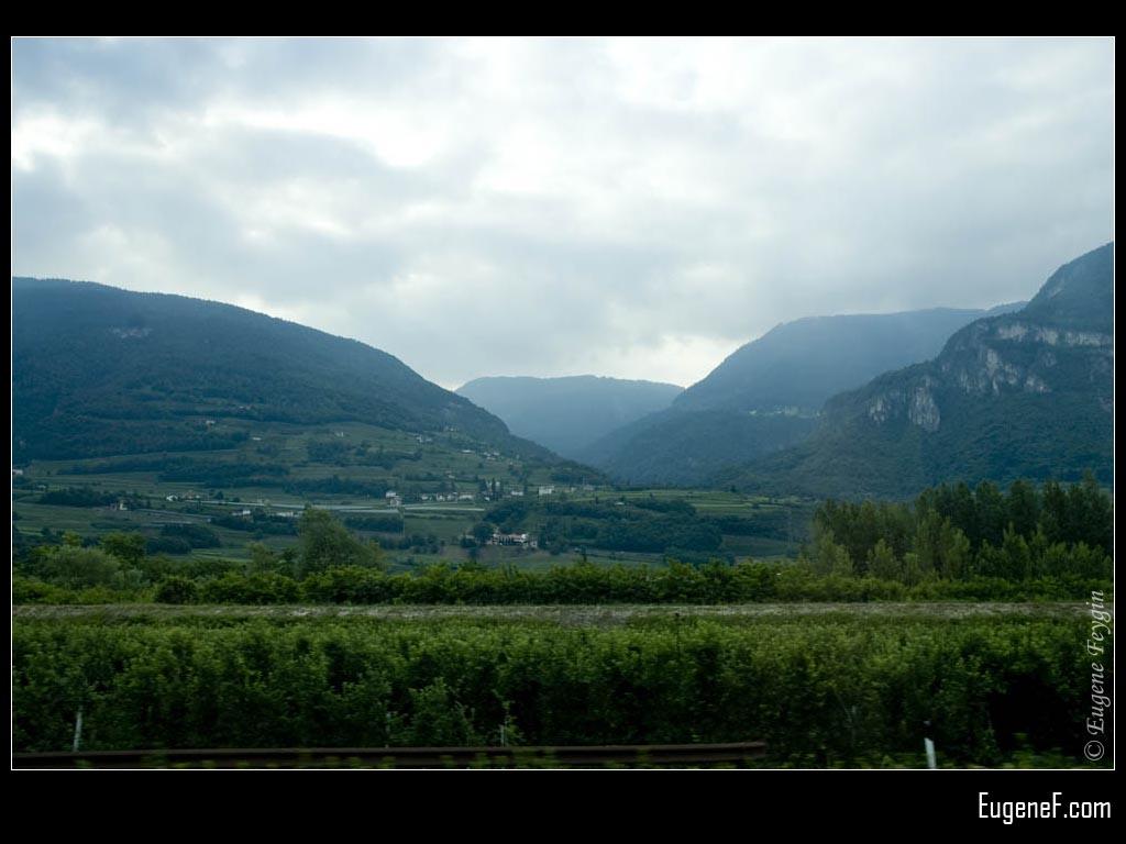 Switzerland Green Mountains