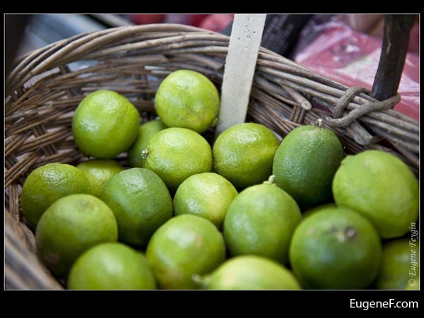 Basket of Limes