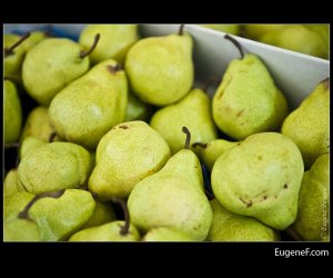 Bright Green Pears