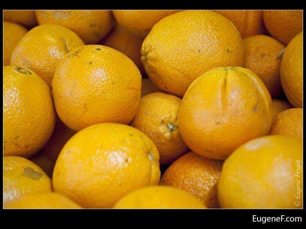 Bright Orange Fruit