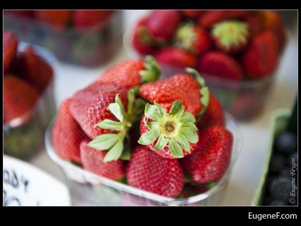 Bunched Strawberries