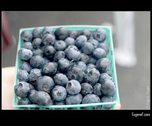 Crate Blueberries