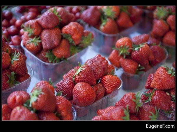 Fruit Market Strawberries