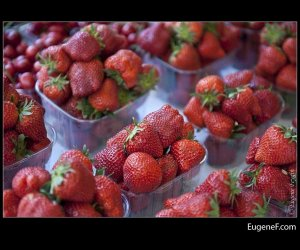 Fruit Market Strawberries