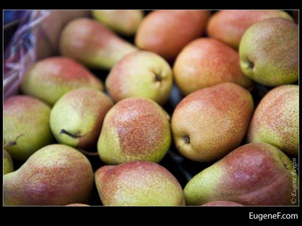 Greenish Brown Pears