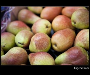Greenish Brown Pears