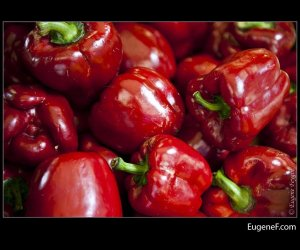 Bright Red Bell Peppers