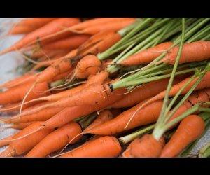 Carrots in Veg Market