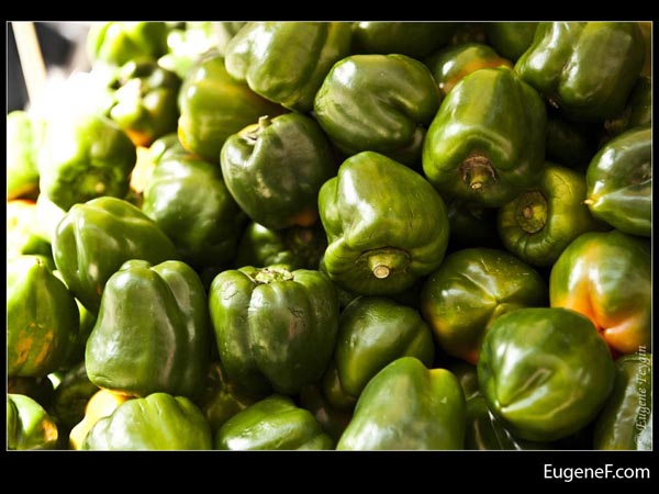 Green Pepper Bunch